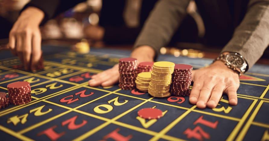 Boční sázky na dobré a špatné živé kasino