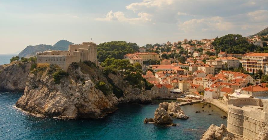 Chorvatská scéna živého hazardu